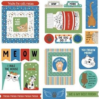 Whiskers Ephemera Cardstock Die-Cuts 26/Pkg-
