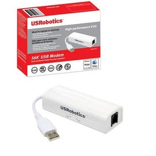 Us robotics usb modem 5637