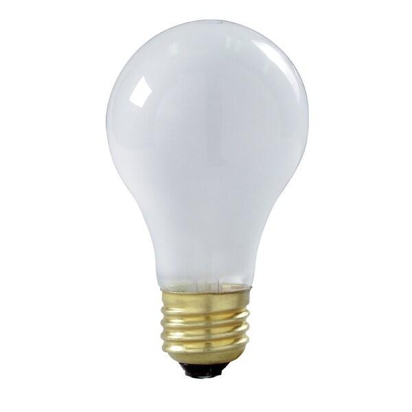 Satco S8517 A19 Incandescent Rough Service Light Bulb, 75 Watt