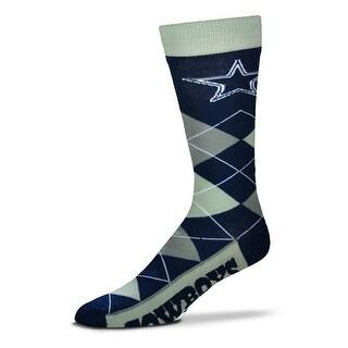 Dallas Cowboys Argyle Crew Socks