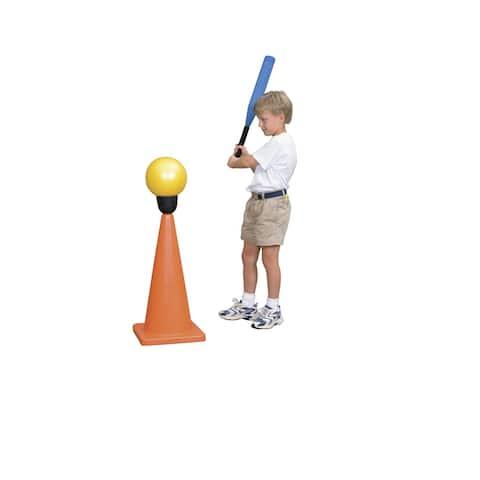 Sportime BigBopper Batting Tee Insert, Standard Size, Black