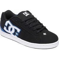 DC Shoes Men's Net Black/Black/Blue