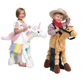 Toddler Ride A Pony Halloween Animal Costume sz 4-6 - one size (size 4-6)