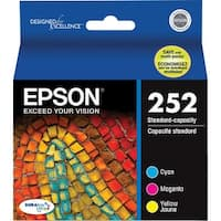 Epson 252 Ink Cartridge - C/M/Y Epson DURABrite Ultra Ink Cartridge - Color - Inkjet