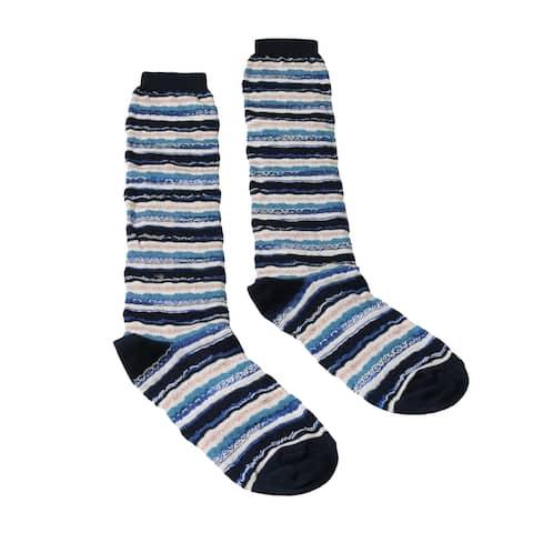 Missoni GM00CMD5221 0003 Turquoise/Black Knee Length Socks