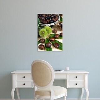 Easy Art Prints Nico Tondini's 'Sweet Chestnuts' Premium Canvas Art