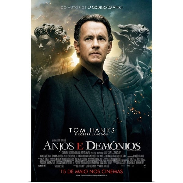 Shop Poster Print Entitled Angels And Demons Movie Poster