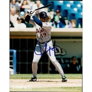 Signed Gonzalez Juan Detroit Tigers 8x10 Photo autographed