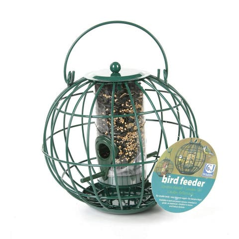 C J London Globe Design Seed Feeder - One Size