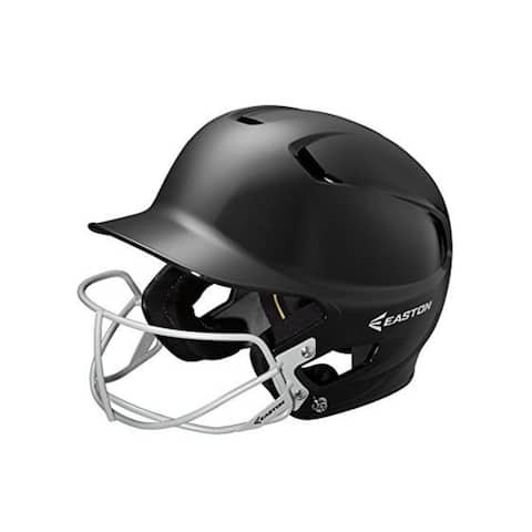 Easton Junior Z5 Batting Helmet with SB Mask (Black)