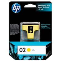 HP 02 Yellow Original Ink Cartridge (C8773WN) (Single Pack)