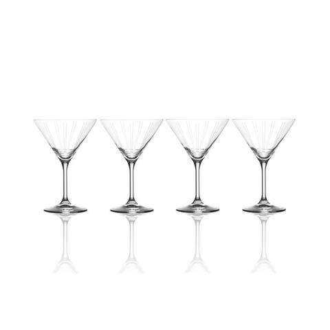 Mikasa 'Berlin' 9.5 oz. Martini Glass (Set of 4)