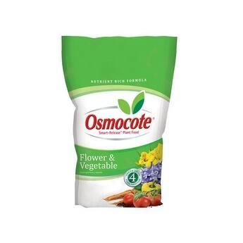Osmocote 277960 Flower & Vegetable Smart Release Plant Food, 8 Lbs
