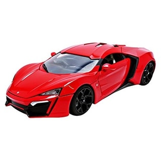 Fast & Furious 1:18 Die-Cast Vehicle: Red Hypersport