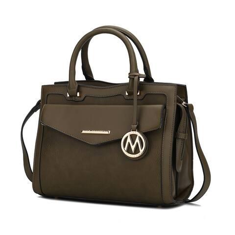 MKF Collection Alyssa satchel by Mia k.