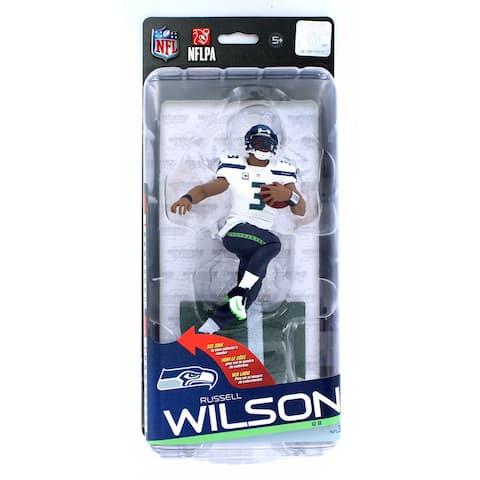 NFL Series 35 McFarlane Action Figure Seattle Seahawks Russell Wilson - multi