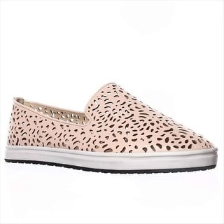 Steve Madden Esther Cut-Out Slip-On Sneakers - Nude