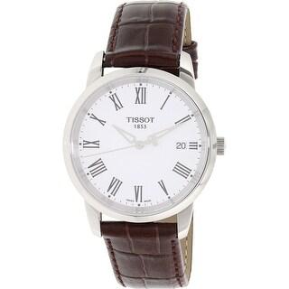 Tissot Men's Classic Dream T033.410.16.013.01 Brown Leather Dress Watch