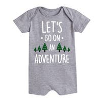 Lets Go On An Adventure - Infant Romper