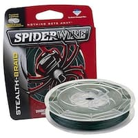 SpiderWire Stealth Braided Fishing Line (8lb x 200yd/ Moss Green)