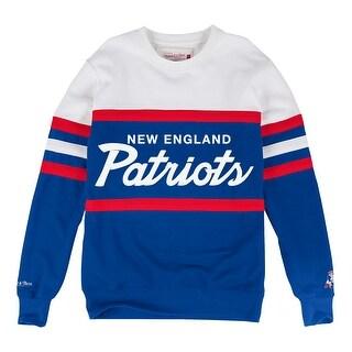 New England Patriots Head Coach Crew Sweatshirt