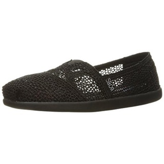 Skechers Womens Daisy And Dots Mesh Casual Flats - 8.5 medium (b,m)