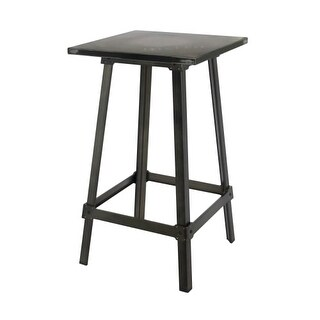 Moes Home Collection ZF-1006 Amelie 41 Inch Tall Steel Pub Table - N/A