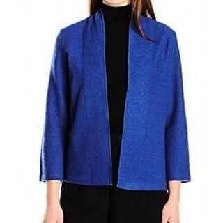 Anne Klein NEW Blue Night Women's Size XS Cardigan Open Front Sweater