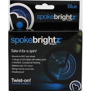 Spoke Brightz LED Bicycle Spoke Accessory, Blue - multi