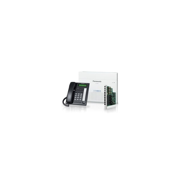 Panasonic KX-TA824-7730BX Advanced Hybrid Telephone / Intercom System + 3 Hybrid Phones (KX-T7730)