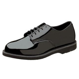 Thorogood Work Shoes Mens Poromeric Oxford Gloss Black 831-6027