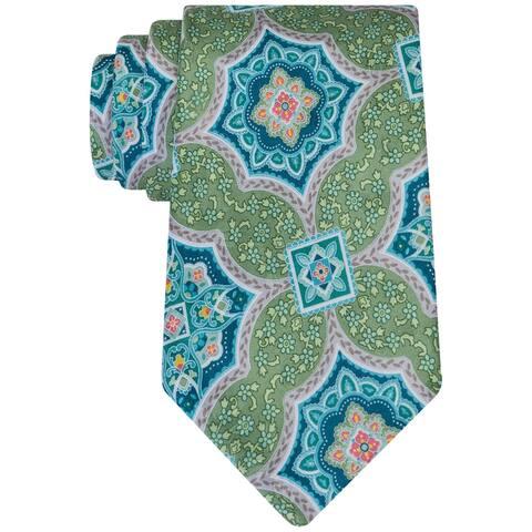 Geoffrey Beene Mens Medallion Culture Necktie - One Size