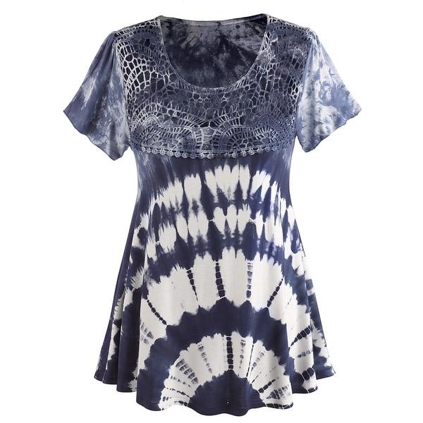 Women's Tunic Shirt - Tie Dye Haight Ashbury Top