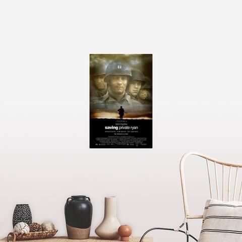 """Saving Private Ryan (1998)"" Poster Print"