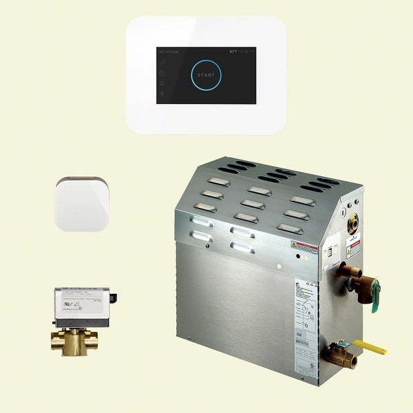 Mr Steam 400C1AI3 iTempo Steam Shower Package with 240V Steam Generator