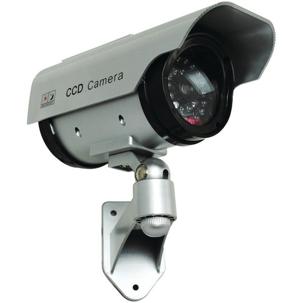 Securityman Sm-3803 Solar-Powered Indoor/Outdoor Simulated Camera With Led