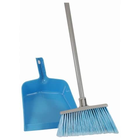 Quickie 750-441 All Purpose Angle Broom & Dust Pan