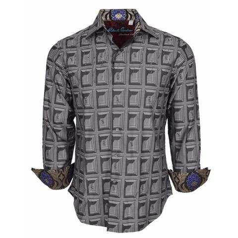 Robert Graham Classic Fit FEELING GOOD Limited Edition Sport Shirt L