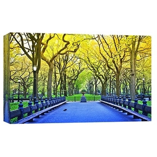 """PTM Images 9-101901  PTM Canvas Collection 8"""" x 10"""" - """"Central Park"""" Giclee New York's Central Park Art Print on Canvas"""