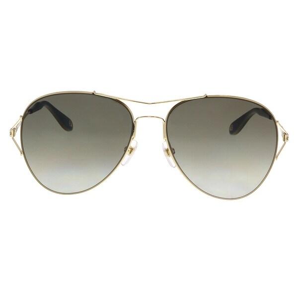 Givenchy GV7005/S J5G HA Gold Aviator Sunglasses - No Size