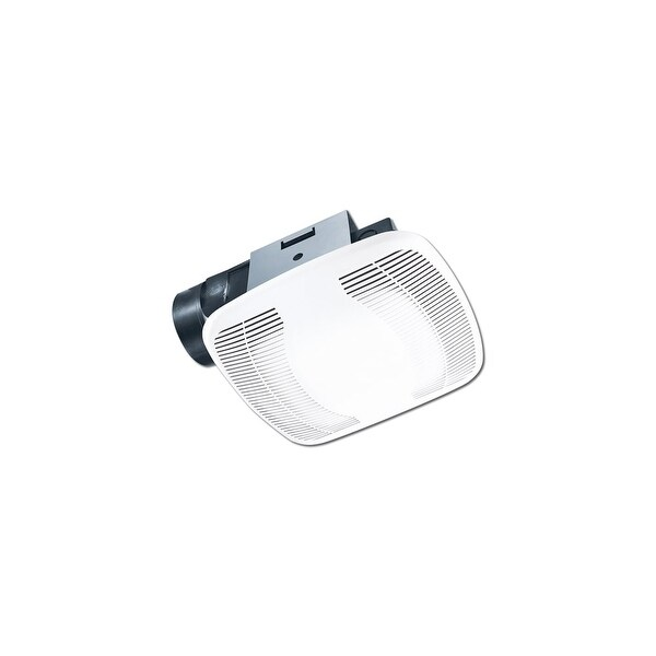 Air King BFQ140 120 CFM 4.0 Sone Exhaust Fan with Snap-In Installation from the High Performance Collection - White