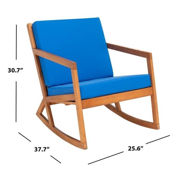 SAFAVIEH Outdoor Vernon Rocking Chair w/ Cushion