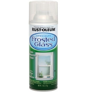 Rust-Oleum 1903830 Specialty Frosted Glass Spray Paint, 11 Oz
