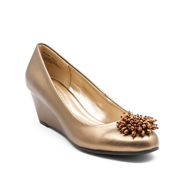 Andrew Geller Valere Women's Heels Bronze