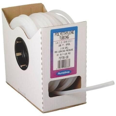"Abbott Rubber T16004003 Polyethylene Tubing Spool, 1/4"" x 100', 125 Psi"