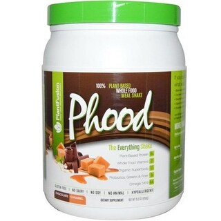 Plantfusion 1563196 15.9 oz Phood Shake Powder - Chocolate Caramel