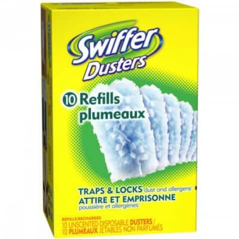 Swiffer 41767 Traps & Locks Duster Refill, 10-Count