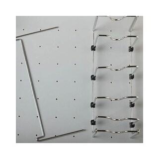 Rev-A-Shelf 5DCD-1-CR Deep Drawer Peg Board Adjustable Pot and Pan Organizer