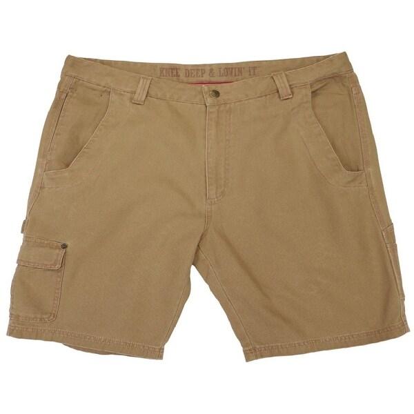 Farm Boy Western Shorts Mens Barn Functional Fun Khaki