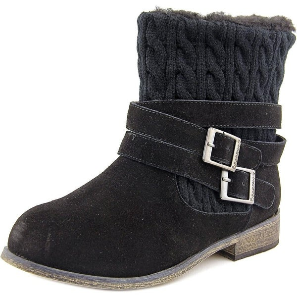 Bearpaw Shania Round Toe Suede Winter Boot